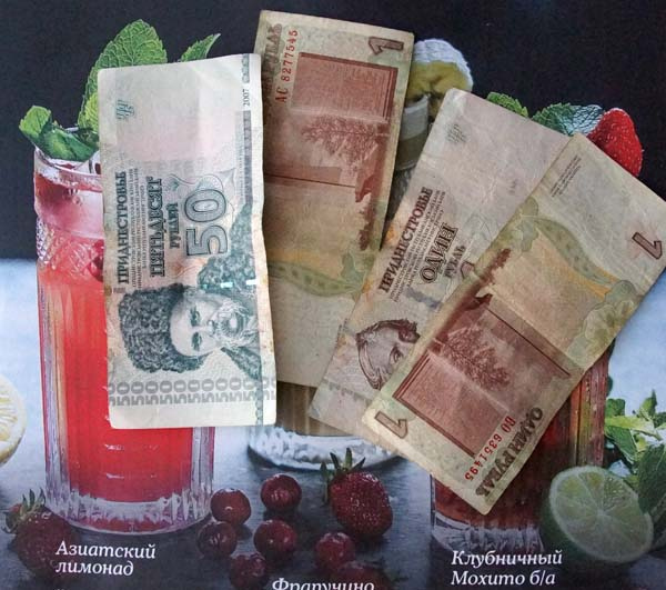 Transnistria roubles
