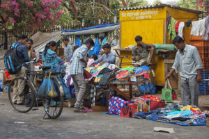 Market Stall in Mumbai