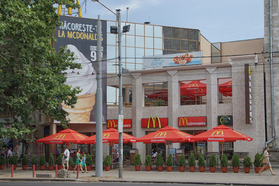 Mcdonalds Chisinau