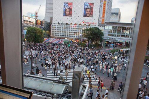 Tokyo's Shibuya crossing