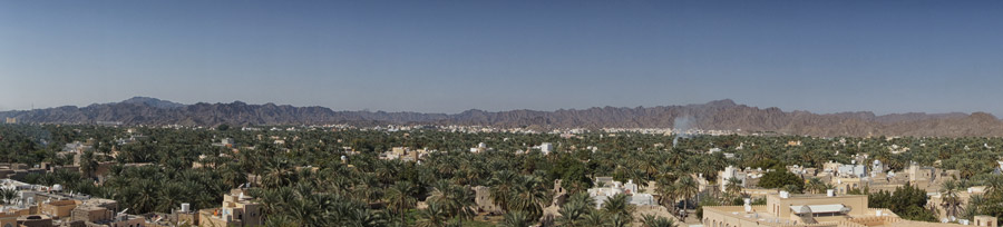 view from Nizwa