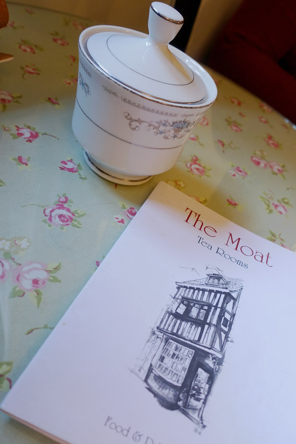 Moat tearooms