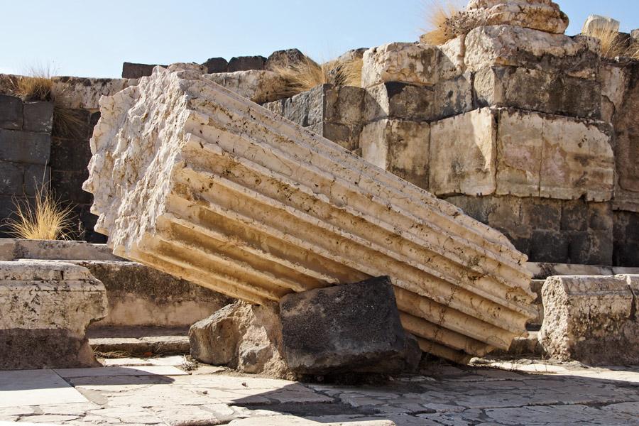 Beth Shean ruins