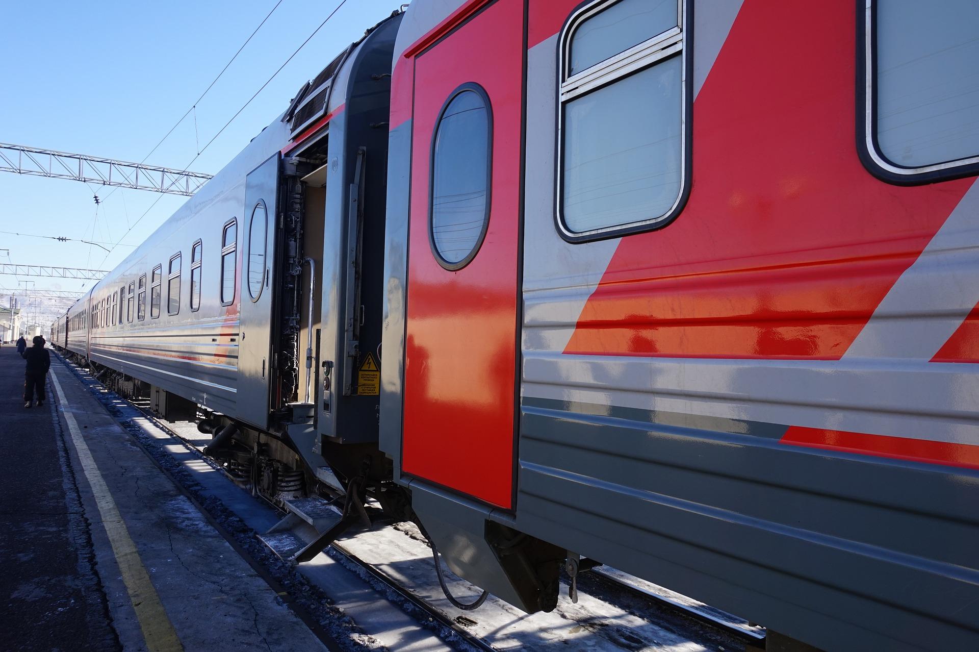 Trans sib train travel